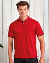 Men`s Contrast Coolchecker® Polo